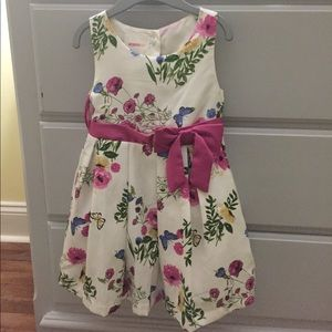 Other - Butterfly & Floral Detailed Dress